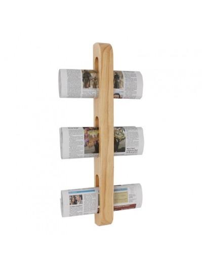 porte journaux revues mural en bois toutequip direct