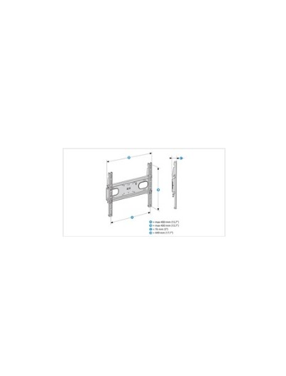 SUPPORT MURAL FIXE POUR TV  F-400