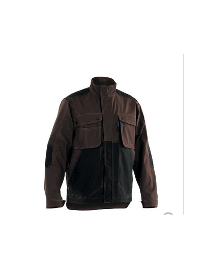 BLOUSON CRAFT WORKER MARRON / NOIR