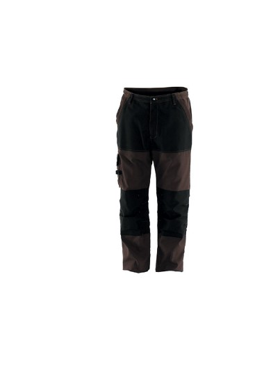 PANTALON RENFORCE  CRAFT WORKER  MARRON/ NOIR