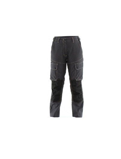 PANTALON FEMME CRAFT WORKER  GRIS CHARCOAL / NOIR