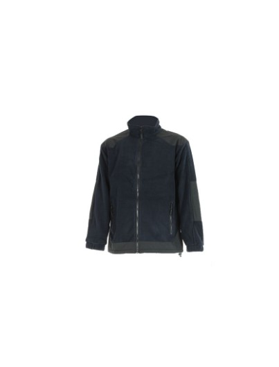 VESTE POLAIRE CRAFT WORKER  BLEU NAVY / NOIR