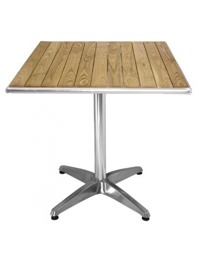 TABLES BISTRO AVEC PLATEAU EN FRENE