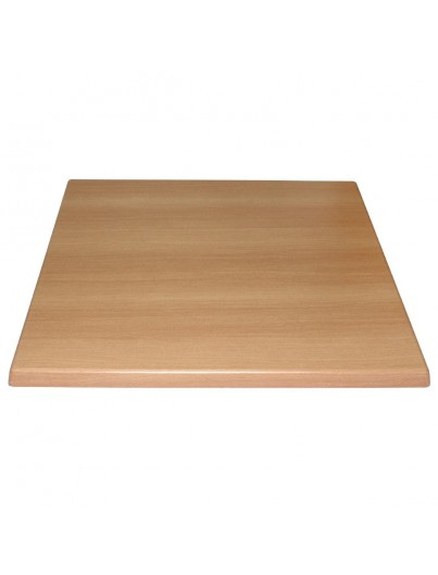 PLATEAU DE TABLE CARRE  70/70/30cm
