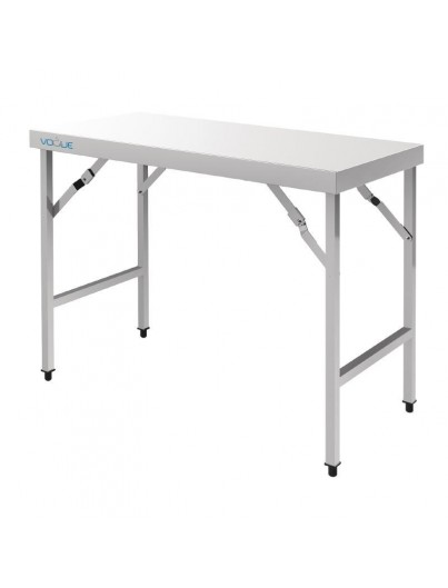 TABLES PLIANTES INOX