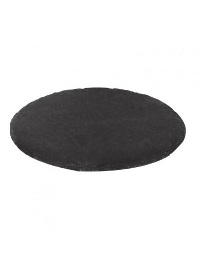 assiette ronde en ardoise naturelle toutequip direct. Black Bedroom Furniture Sets. Home Design Ideas