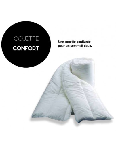 COUETTE CONFORT BLANCHE