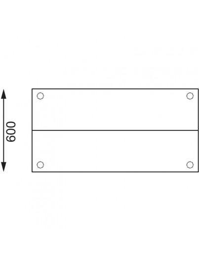 TABLES INOX AVEC ETAGERES