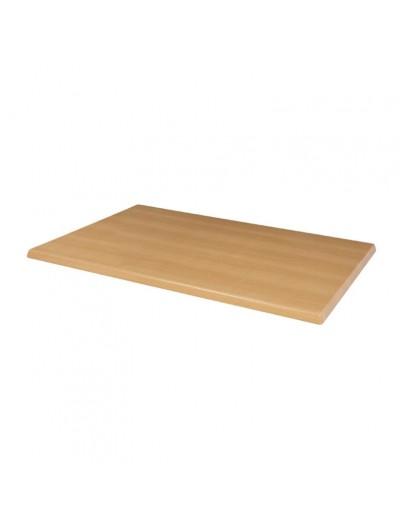 PLATEAUX DE TABLE PRE-PERCE COLORIS HÊTRE